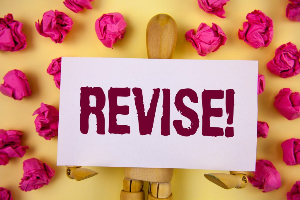 tutor advice on how to revise