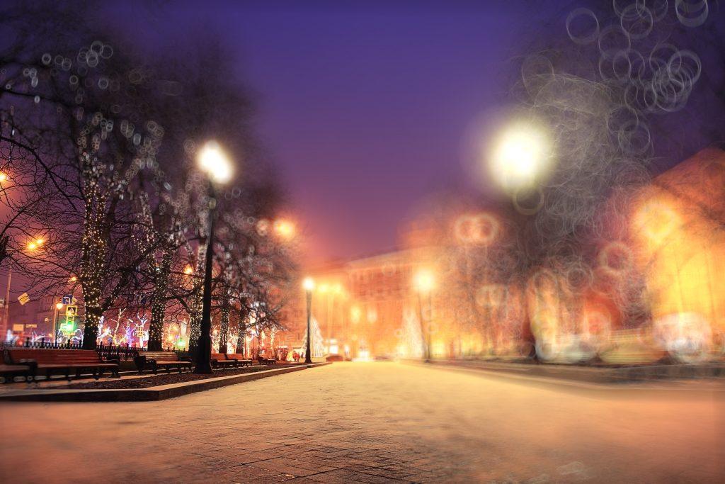 winter evening poem