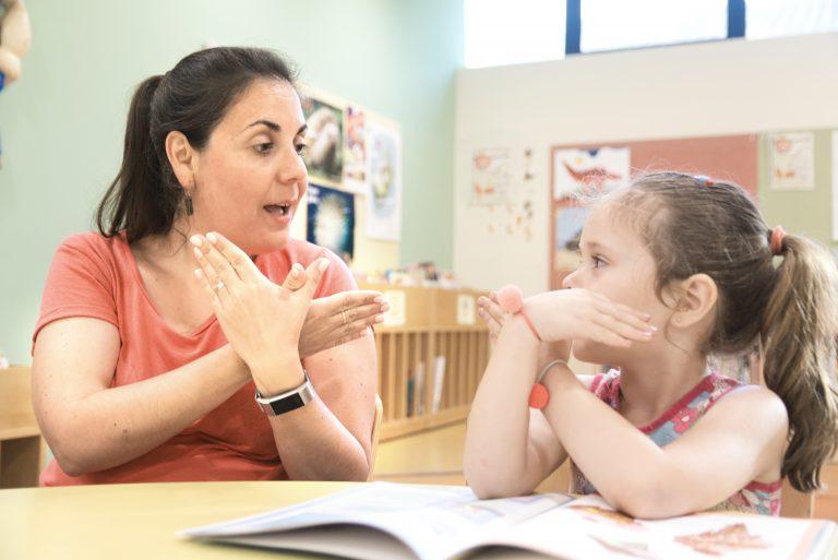 deaf student