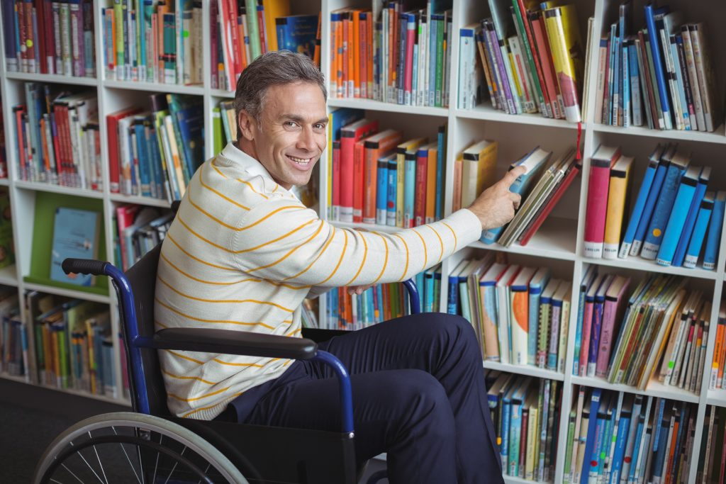 disabled teacher
