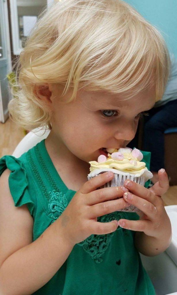 Baking with your child