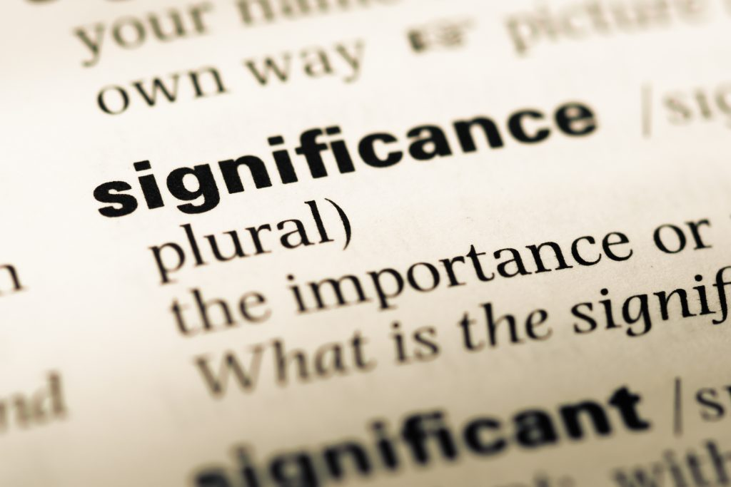 significance history