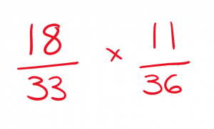 maths confidence - one fraction at a time